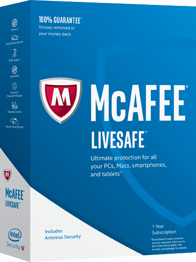 McAfee <strong>LiveSafe</strong>