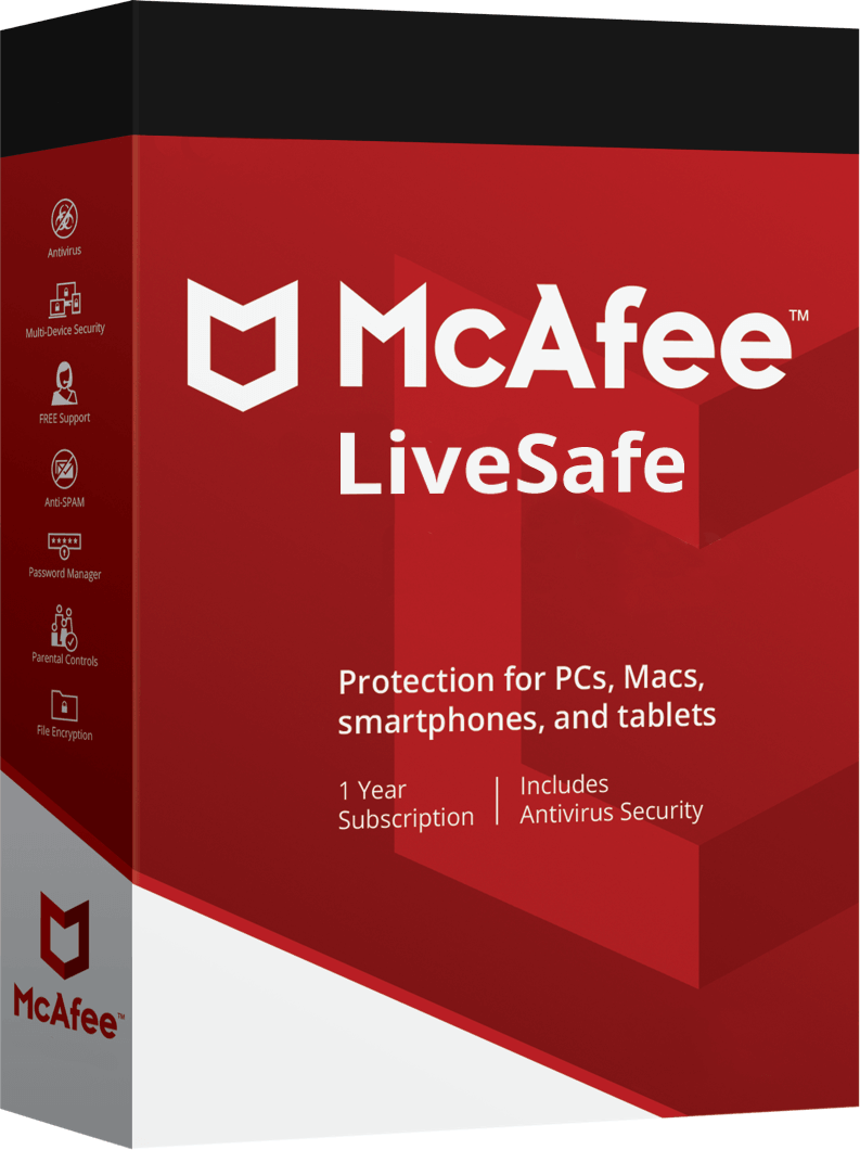 Livesafe product pack