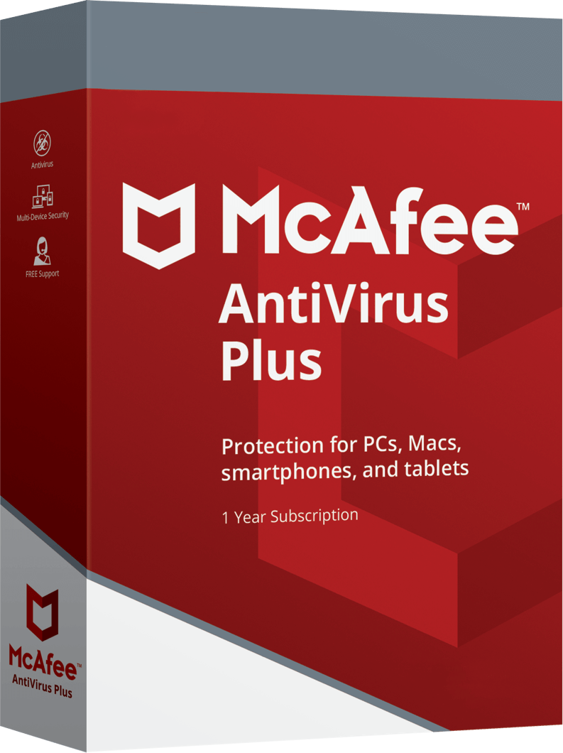 McAfee <strong>Antivirus Plus</strong>