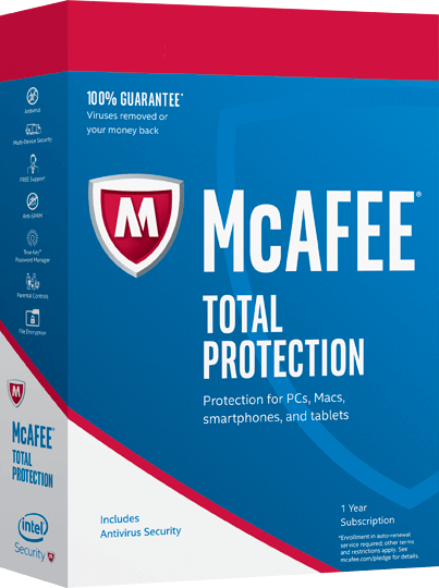 McAfee <strong>Total Protection</strong>